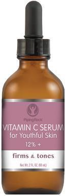 Piping Rock, Vitamin C Serum 12%+, Dropper Bottle (59 ml)