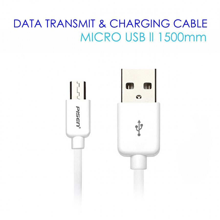PISEN Micro USB Data Charging Cable II 1500mm GENUINE