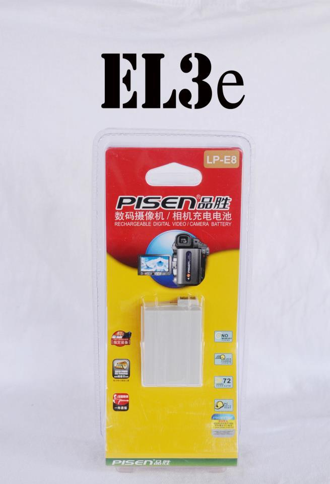 PISEN For Nikon EN-EL3E Battery D200, D300, D700, D80