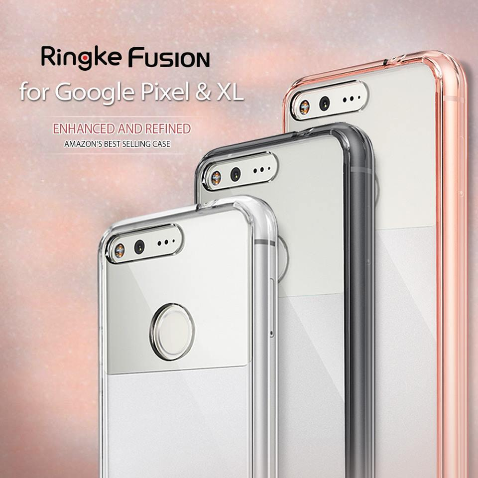 [Pixel & XL] Ori Ringke Fusion Case for Google Pixel & Pixel XL