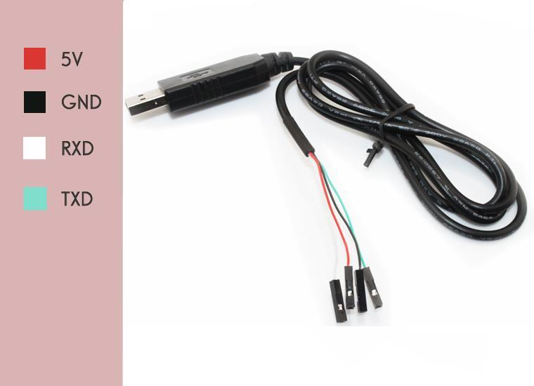 PL2303HX to USB TTL Upload /Download Wire