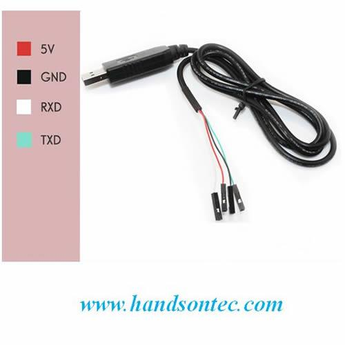 PL2303HX USB to TTL UART RS232 Converter Cable