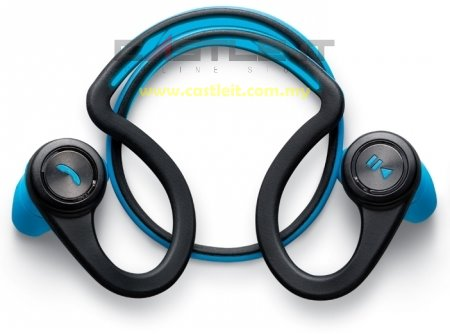 PLANTRONICS Earset Bluetooth BACKBEAT FIT BLUE -BUY ORIGINAL