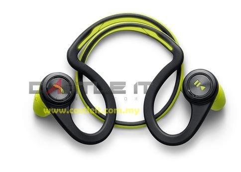 PLANTRONICS Earset Bluetooth BACKBEAT FIT GREEN -BUY ORIGINAL