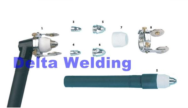 Plasma P-80 Welding Malaysia Torch Spare Part ( Ceramic Cup )