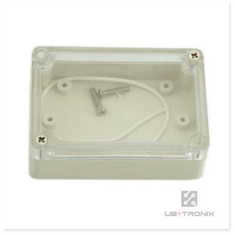 Plastic Waterproof Cover Clear Electronic Project Box Enclosure Case