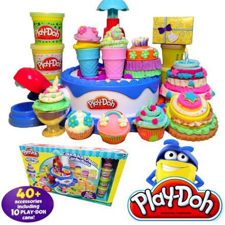 Cake Ice Cream Play Doh : Play-Doh Sweet Shoppe Cake & Ice Cream Confections (end 2 ...