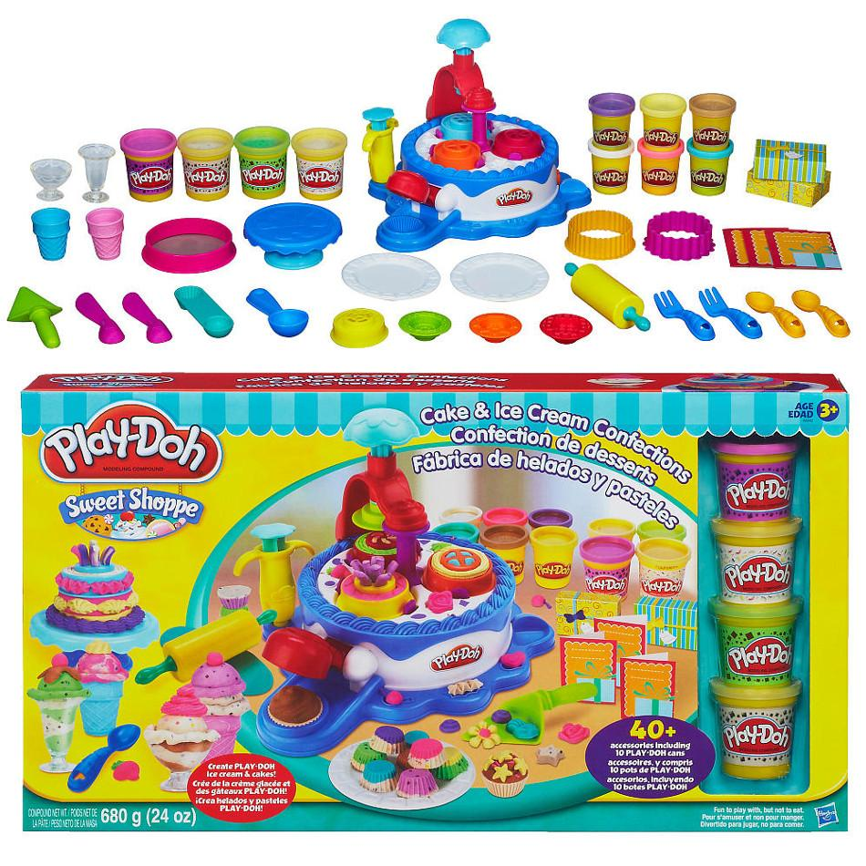 Cake Ice Cream Play Doh : Play-Doh Sweet Shoppe Cake & Ice Cream C (end 2/9/2018 7 ...