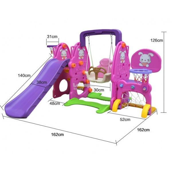 PLAYGROUND RABBIT 5 IN 1