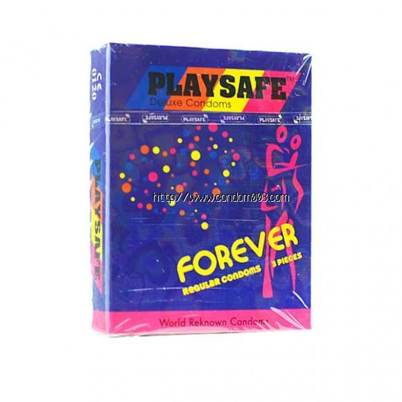 PLAYSAFE FIT-TEX FOREVER CONDOM - 3's