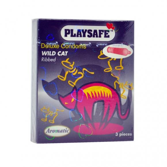 PLAYSAFE WILDCAT CONDOM - 3's