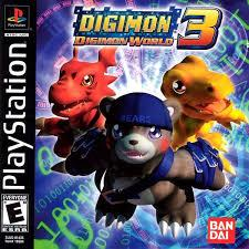 Playstation 1 Digimon World 3 English PC Vers