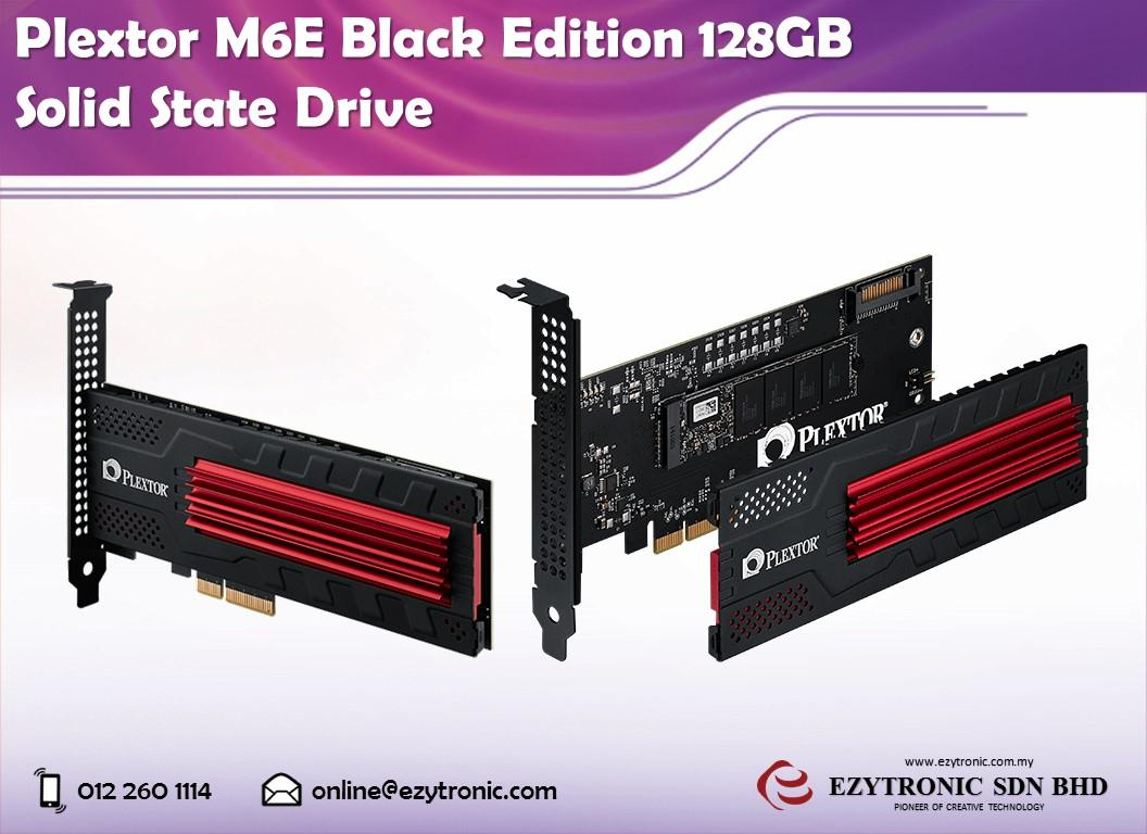 Plextor M6E Black Edition 128GB Solid State Drive