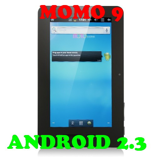 Ployer momo9 Android 2.3 New 1.2GHz CPU 8GB 2160P HDMI 7 Inch Tablet P
