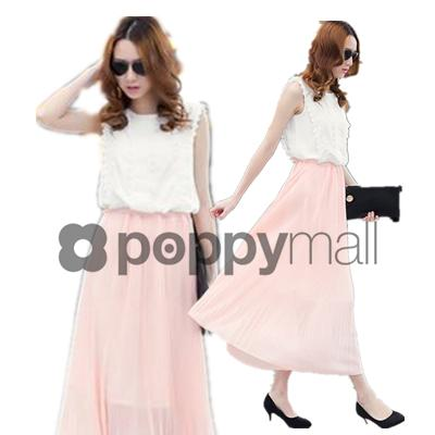 [PM-1867-5799] Woman Sexy Elegant Dinner Dress Pink