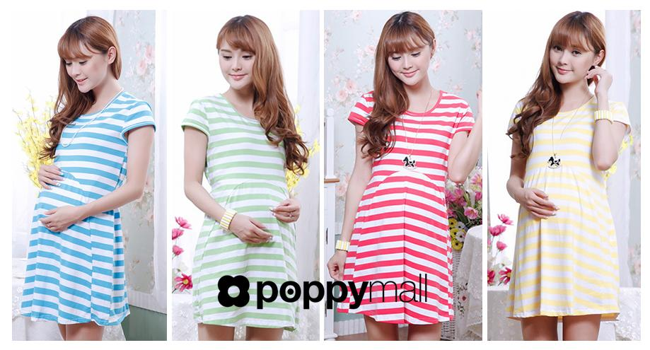 [PM-885-5003] Stylish Pregnant Lady Wear Fashion Maternity Dress