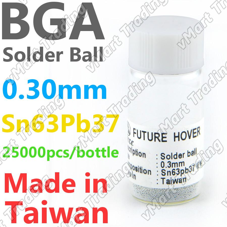 PMTC Sn63Pb37 BGA Solder Ball  25K 0.30mm