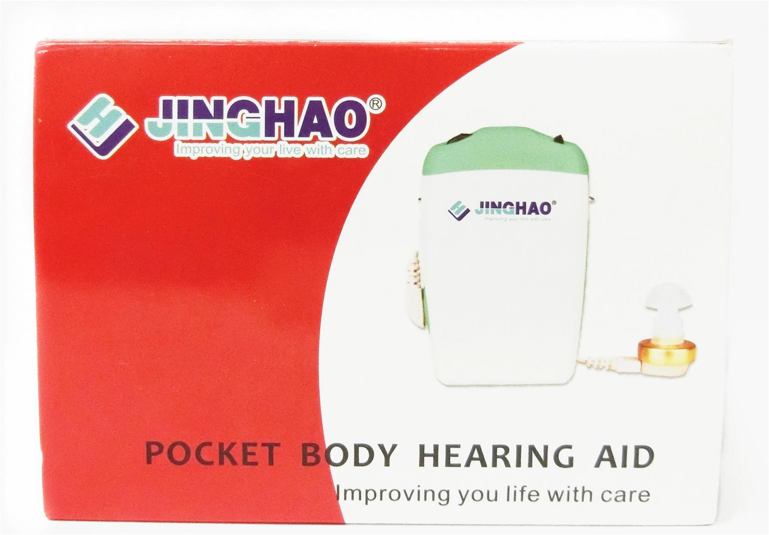 Pocket Hearing Aids Amplifier Jinghao JH-232 alat bantu dengar