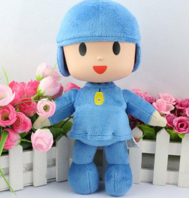Pocoyo Doll, 25CM, Soft Plush Toy Birthday Gift