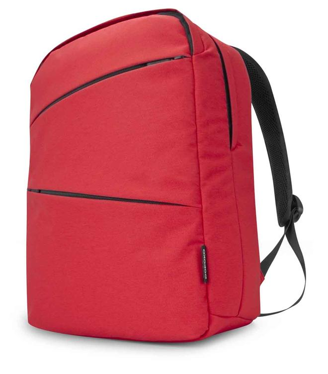 POFOKO Ergonomic Design 15.6' Inch Anti-Splash Laptop Backpack Red