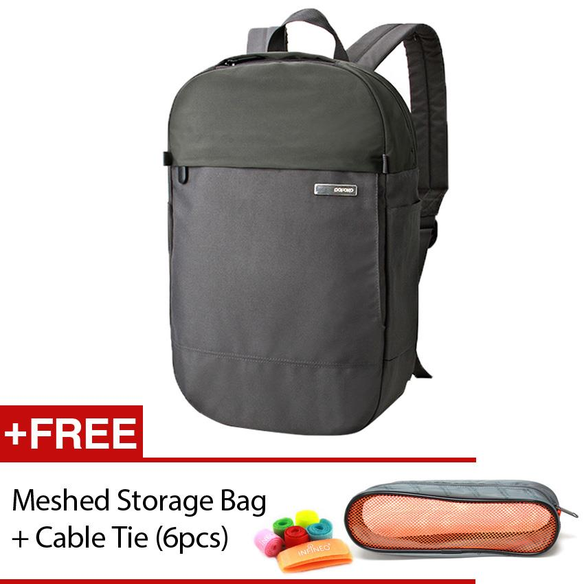 POFOKO Venice Laptop Backpack 14' FREE Storage Bag Cable Tie