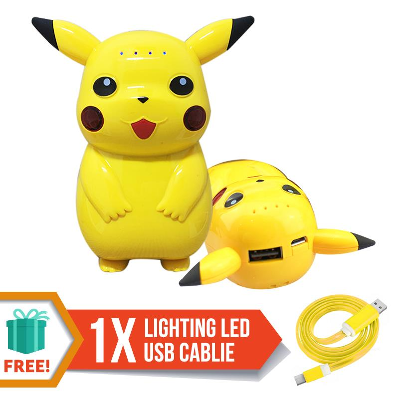 Pokemon Go Pikachu Collection Portable Charger Power Bank 10000mAh