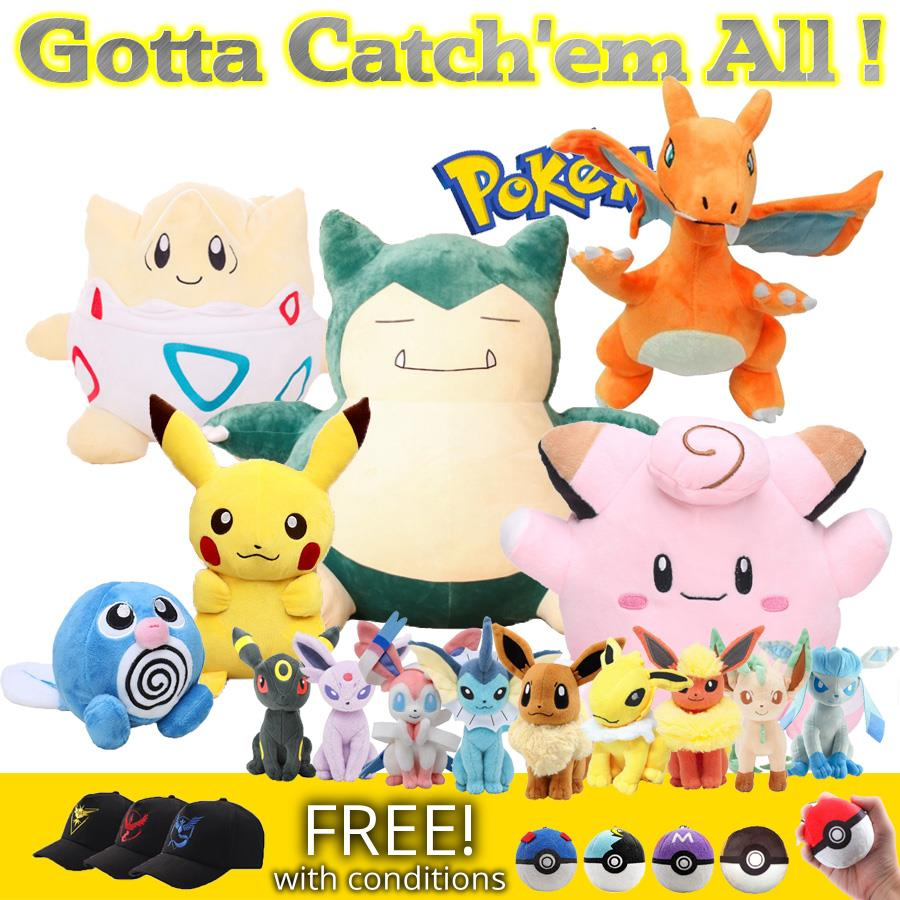 Pokemon Plush Galore! Category E to H