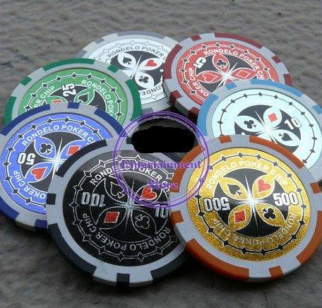 Poker Chips - Butterfly (25 Units)