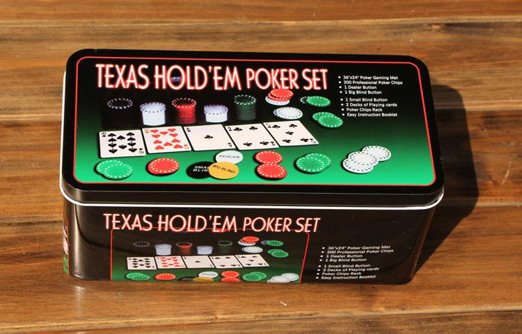 texas hold em casino style poker set