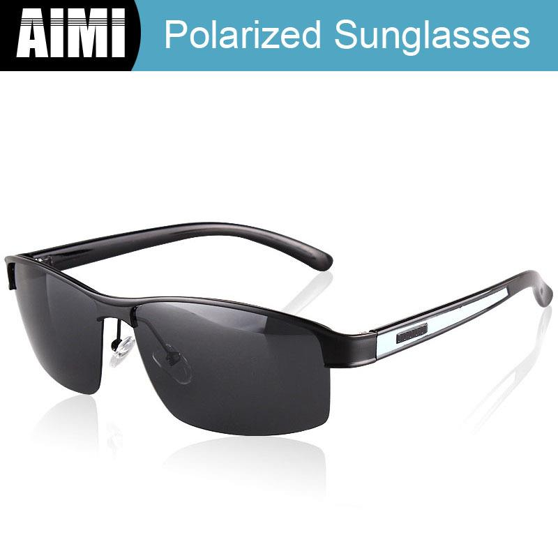 Rimless Glasses Malaysia : [Polarized]AIMI Men Sunglasses Glass (end 4/19/2018 8:29 PM)