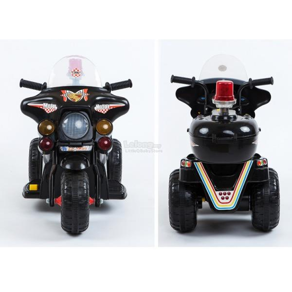 Police Ride-On Scooter for Kids