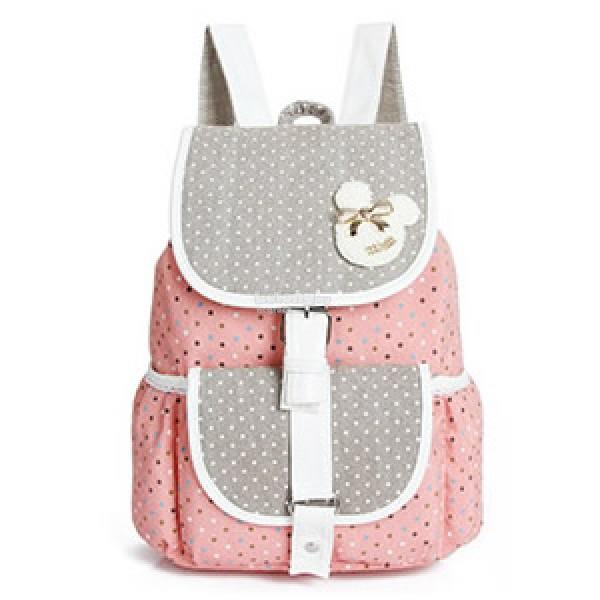 Polka Dots Fancy Backpack / Girl's Casual Backpack [2 colour]