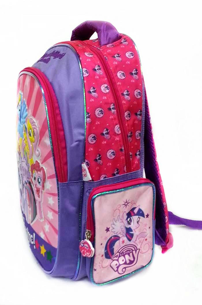 MY LITTLE PONY AWESOME FRIENDSHIP SCHOOL BAG * W31xH41xD17CM