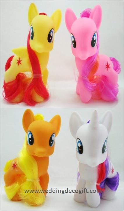 My Little Pony Cake Topper Toy Figures �MLPCT17B