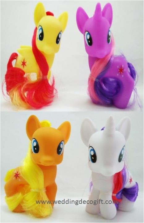 My Little Pony Cake Topper Toy Figures –MLPCT17B
