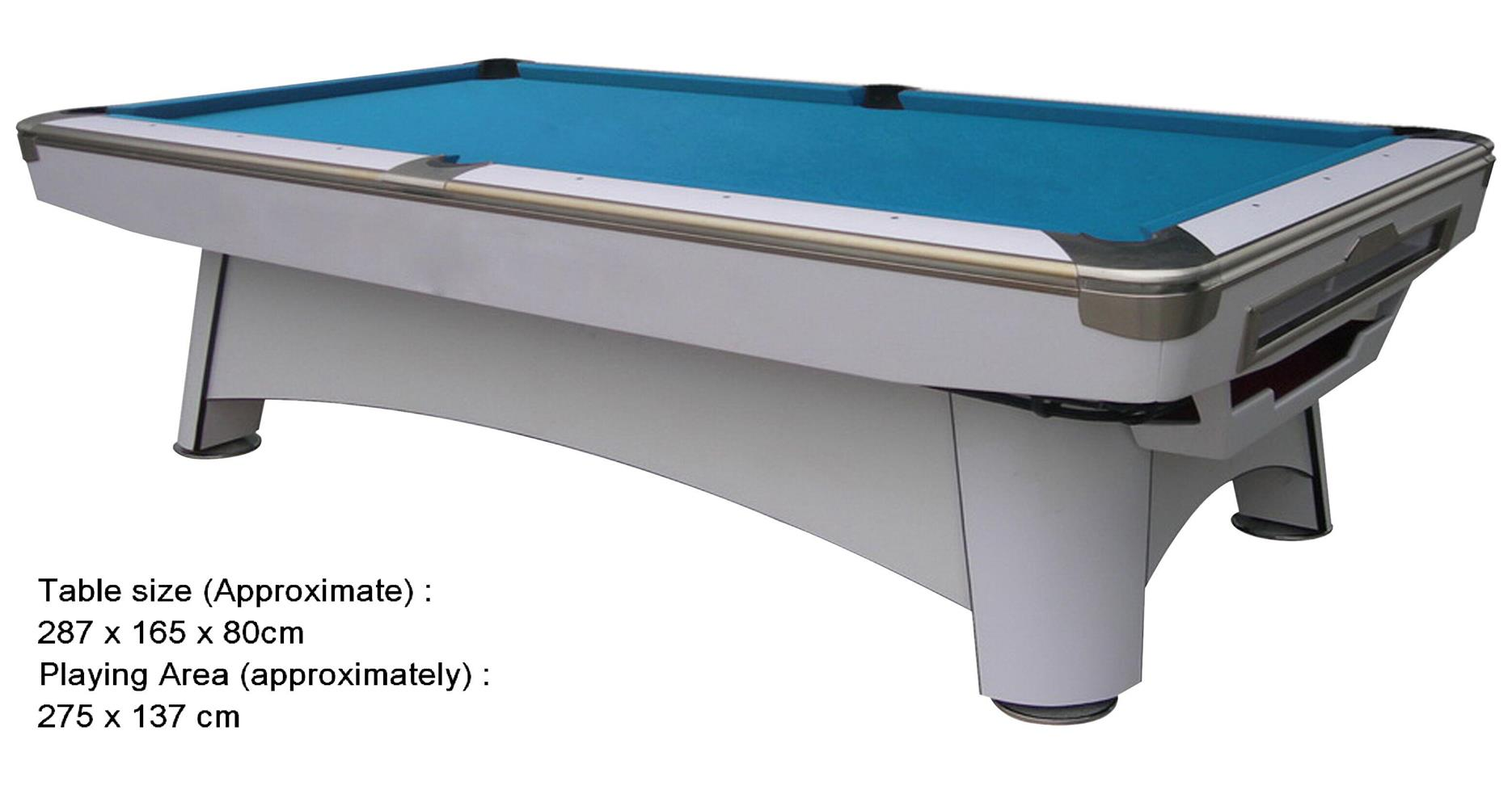 Pool table 9ft internatina end 12 22 2017 5 42 pm myt - What is the size of a standard pool table ...