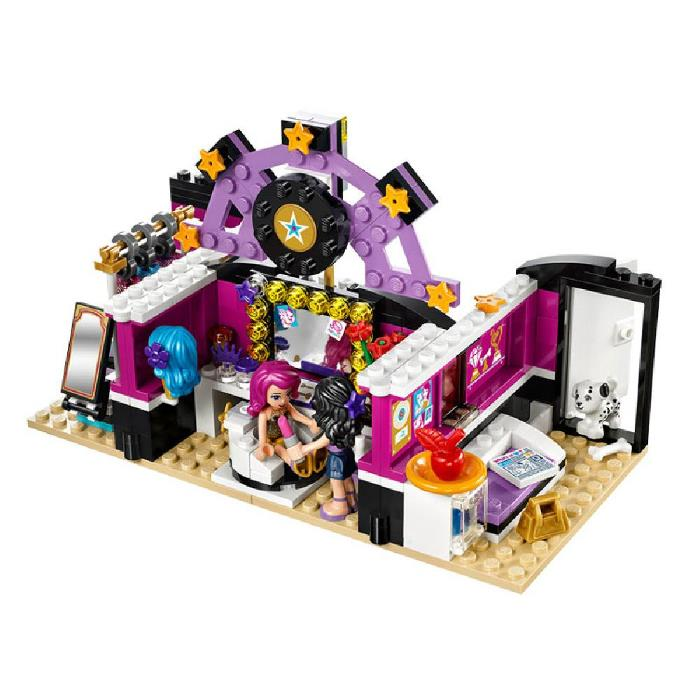 Pop Star The Dressing Room Toys LEGO Compatible Building Blocks