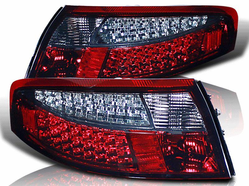 PORSCHE 996 '96-04 LED Tail Lamp Smoke- Red / Full Smoke