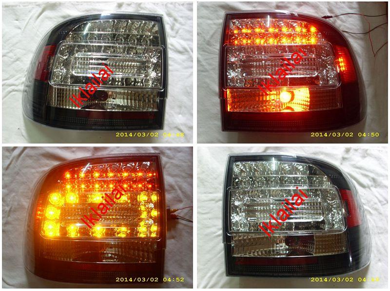 Porsche Cayenne `03-06 Tail Lamp Crystal LED [Black Housing]
