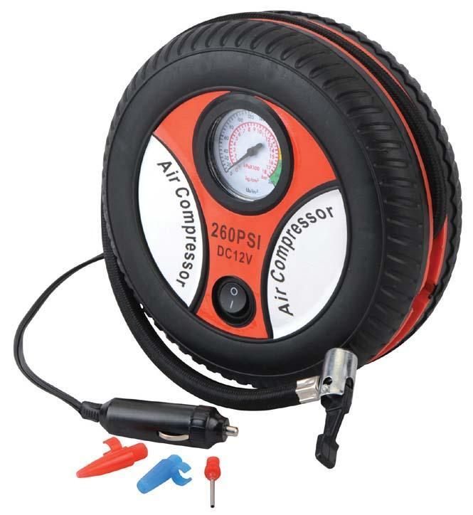 Portable Air Compressor for Car Tyres