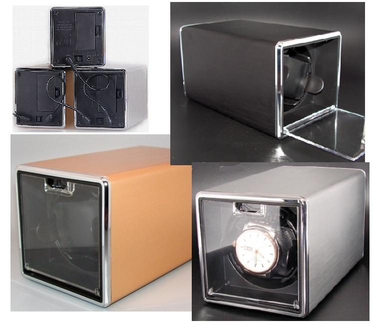 Portable Watch Box Winder Chrome Premium Selection