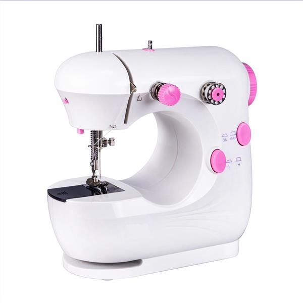 Portable Dual Speed Mini Sewing Machine JYSM-301 (Pink)