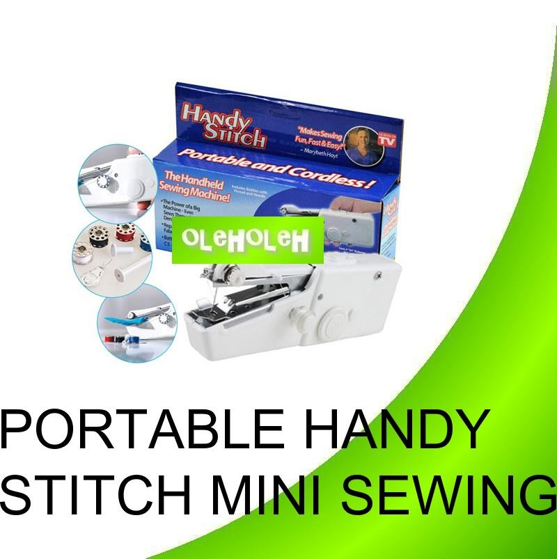 Portable & Durable Handheld Battery Operated Handy Stitch Mini Sewing