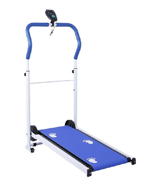 Portable & Foldable Mini Treadmill Gym Running Slimming Medium (blue)