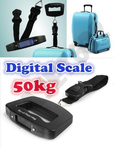 Portable Handheld Digital Luggage Baggage 10g- 50kg Weighing Scale