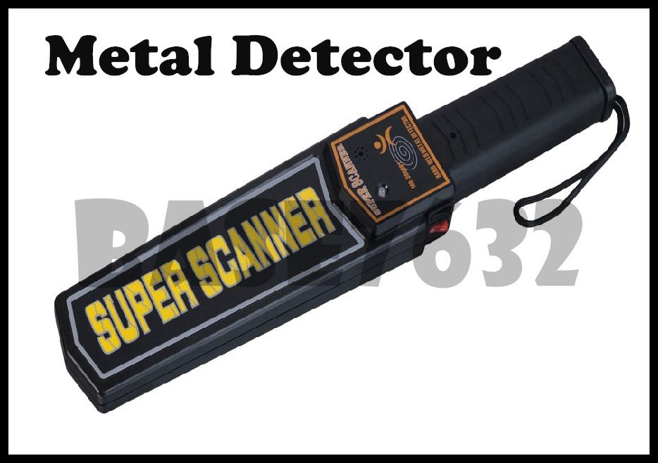 Portable  Handheld Metal Detector Super Scanner Police