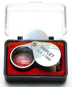 Portable Magnifying 30x Magnification with Storage Box