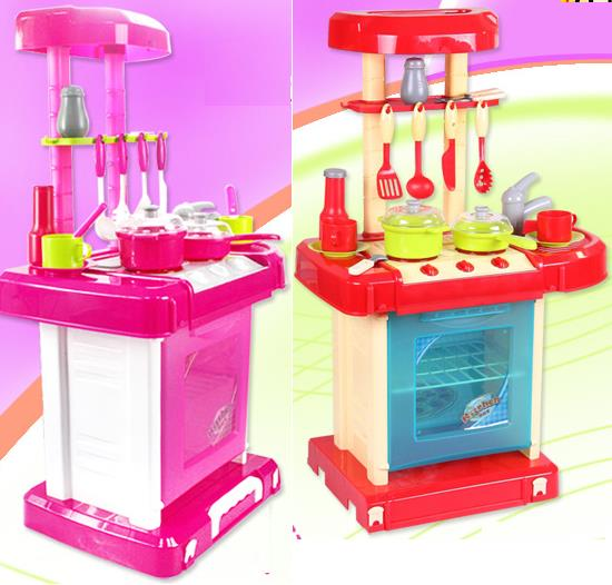 Portable little master chef kitchen end 11 19 2017 4 15 pm for Kitchen set portable