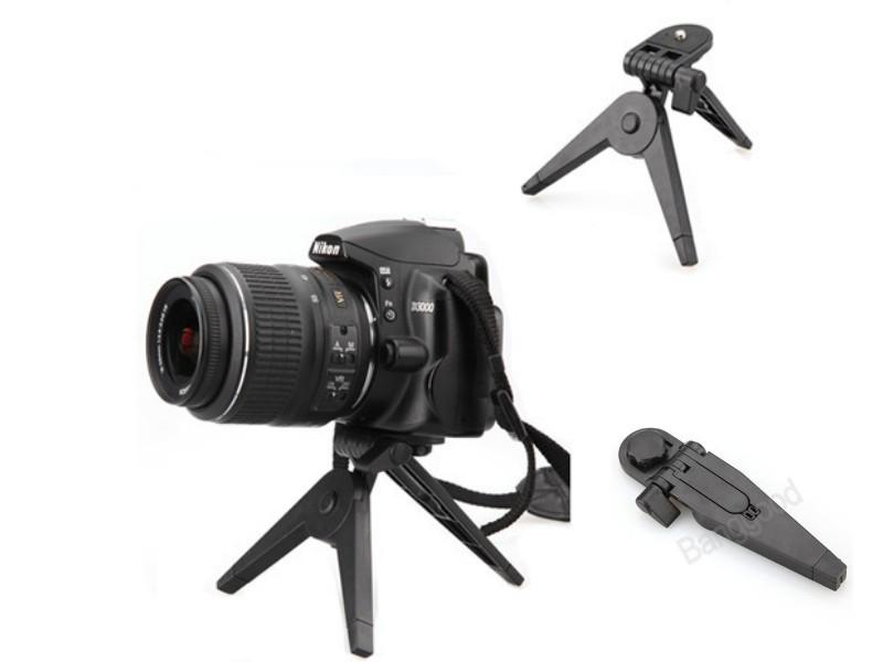 Portable Mini Folding Tripod Stand For Canon Nikon Sony Cameras DV Cam