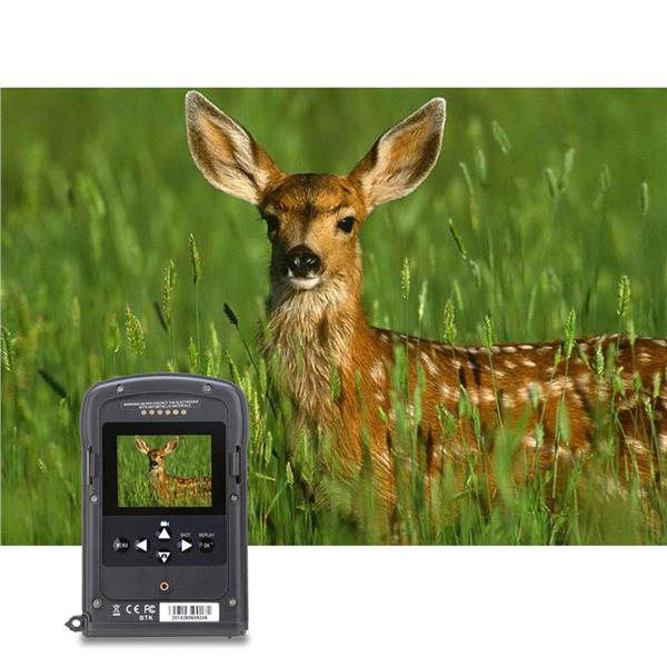 Portable MMS GSM Wildlife Hunting Camera 12MP HD Digital Infrared Scou